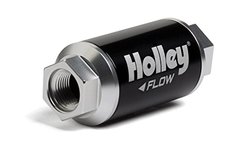 Holley 162-551 Black Billet Finish Fuel Filter (100 Micron Fuel Filter compare prices)