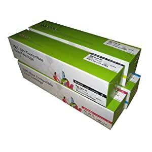 Remanufactured Gg577 Gg579 Gg578 Hg308 Toner Cartridges for Use in Dell 5100cn Series Printer - 4pk (Bcmy) Combo