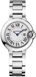 Cartier Women's W69010Z4 Ballon Bleu Stainless Steel Watch by Cartier
