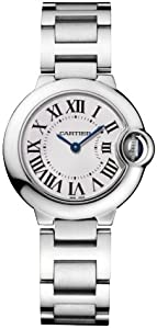 Cartier Women's W69010Z4 Ballon Bleu Stainless Steel Watch