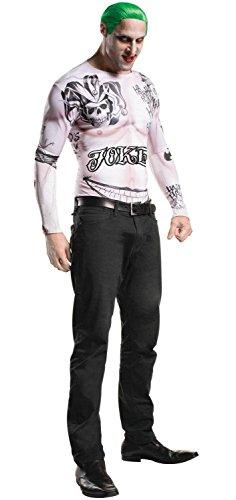 [Suicide Squad Joker Halloween Costume Teen Kit (X-Large)] (The Joker Halloween Costumes Makeup)