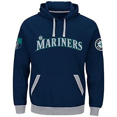 "Seattle Mariners Majestic MLB ""Third Wind"" Men's Hooded Sweatshirt"