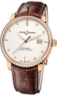 Ulysse Nardin Classico Rose Gold Watch