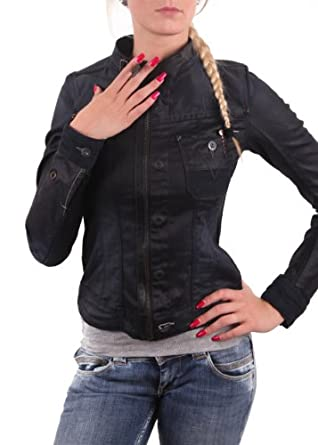 star damen jacke comic 5620 jacket tumble raw gr e xs amazon. Black Bedroom Furniture Sets. Home Design Ideas