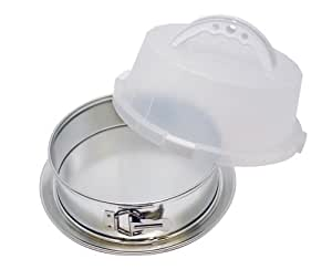 EZ Baker Covered Springform Pan with Leakproof Bottom