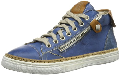 Momino Unisex - Child sneakers Derby Blue Blau (Azzurro) Size: 38