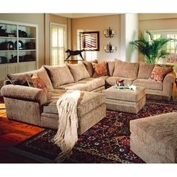 Superieur Westwood Casual U Shaped Sectional Sofa By Coaster   Tan Chenille