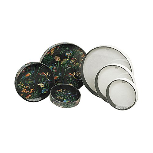 "Remo Ocean Drum®, 22"" Diameter, 2 1/2"" Depth, Fish Graphic"