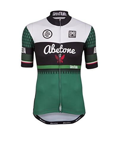 Santini Maglia Ciclismo Team 5A Tappa [Verde/Bianco]