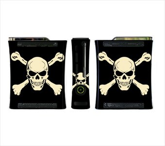Jolly Roger Crossbone Skin for Xbox 360 Console