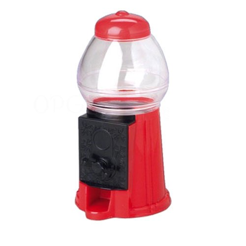 One Mini Gum Ball Machine Snack Dispenser - 1