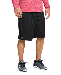 "Under Armour Men's UA Flex 10"" Shorts, Small, Black, 3-Pack"
