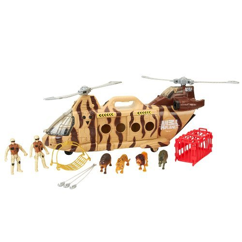 Animal Planet Wildlife Helicopter Set front-833333