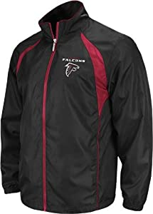 Atlanta Falcons Reebok Trainer Full Zip Lightweight Jacket by Reebok