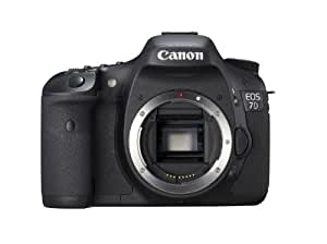 Canon EOS 7D Appareil photo numérique Réflex 19 Mpix Boîtier Nu Noir