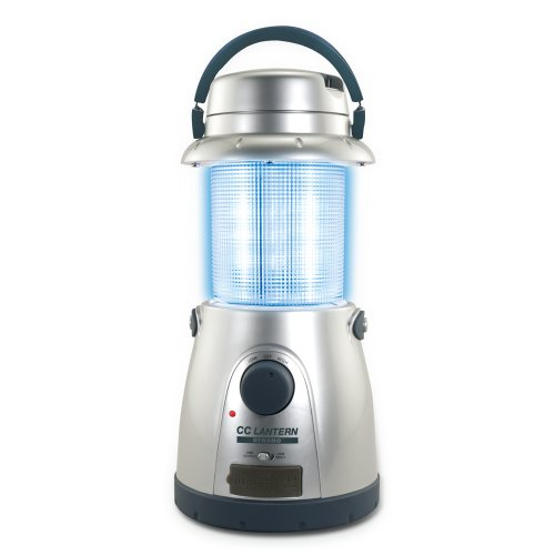 C. Crane Dynamo 15-Led Lantern Hand Crank Or 12V Power Option With Built In Usb Port