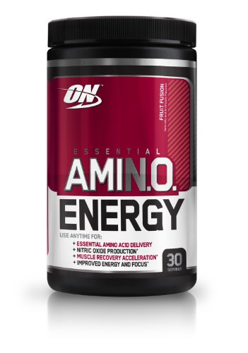 Optimum Nutrition Essential Amino Energy, Fruit Fusion, 30-Count
