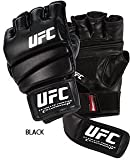 Gungfu UFC Ground & Pound Practice MMA Gloves – Color: Black, Size: Adult Small/Medium