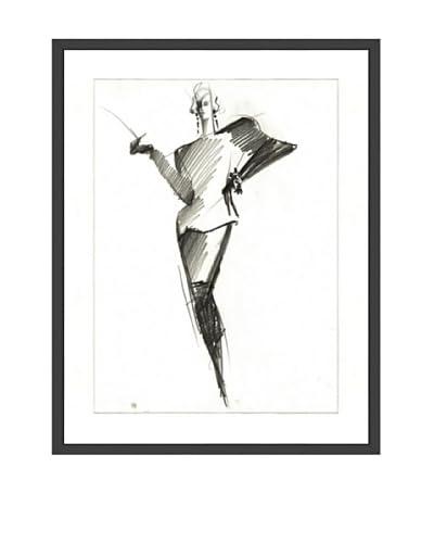 Tony Viramontes Claude Montana Haute Couture, 1985 As You See