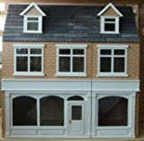 The Shop Dolls House Kit/ 3 Storey Painted Brick