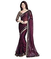 Sonani Fashion Georgette Designer Party Wear Saree