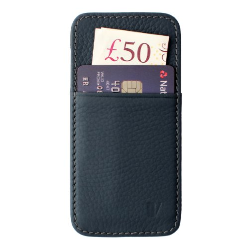 Special Sale Vaultskin Mayfair Pouch Wallet for iPhone 5 & 5S (Navy)