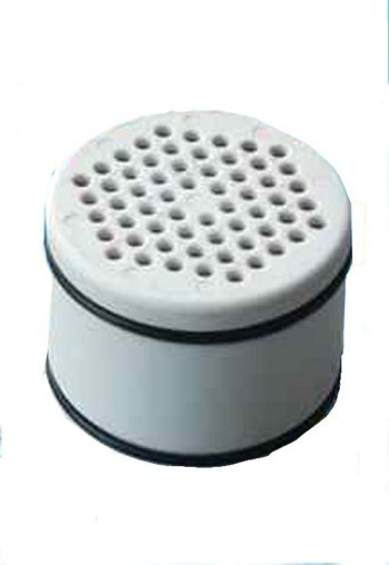 Shower filter replacement cartridge for models WMF, HSF, and SUN