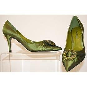 satin bridal shoes