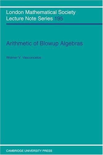 算法的解的爆破代数 (伦敦数学学会演讲笔记系列)