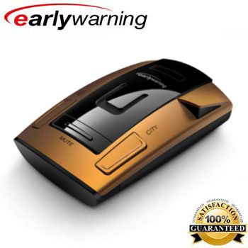 Early Warning 22 Frequency Laser / Radar Detector with POP Radar Detection and VG-2 / Spectre Alert I, II, III and IV Surveillance Immunity