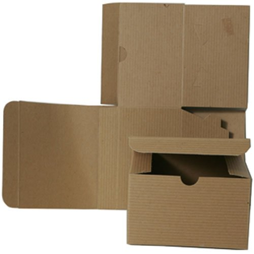 5x5x3 Open Lid Kraft Gift Boxes - Sold individually