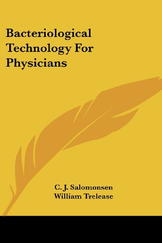 Bacteriological Technology For Physicians PDF