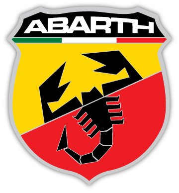 Italian Fiat Abarth Scorpion Sticker
