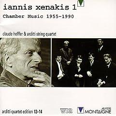 Iannis Xenakis 1 : Chamber Music 1955-1990