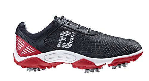 Junior Boys Cleated Athletic TPU Cage Black/Red