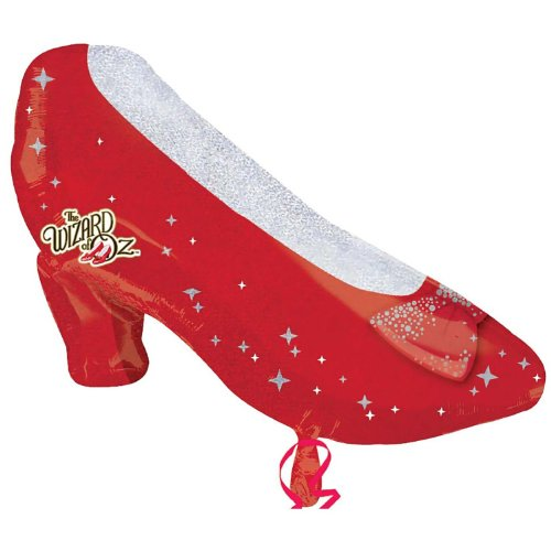 Ruby Slippers Shaped Foil Balloon Party Accessory - 1