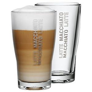WMF 954142040 Barista Latte Macchiato Glasses Set of 2