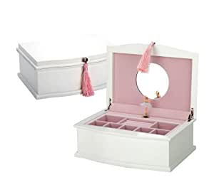 Reed barton ballerina jewelry chest home for Amazon ballerina musical jewelry box