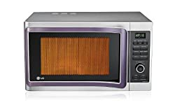LG MC2881SUS 28 Litre 3100-Watt Convection Microwave Oven (Silver)