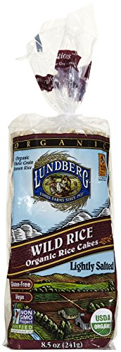 buy Lundberg Organic Wild Rice Cakes, Lightly Salted-8.5 Oz