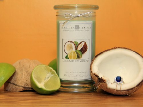 Coconut Lime Jewelry Candles By Jewelry Candle Company