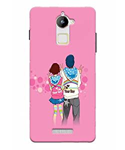 GripIt Lovers Case for Coolpad Note 3 Lite