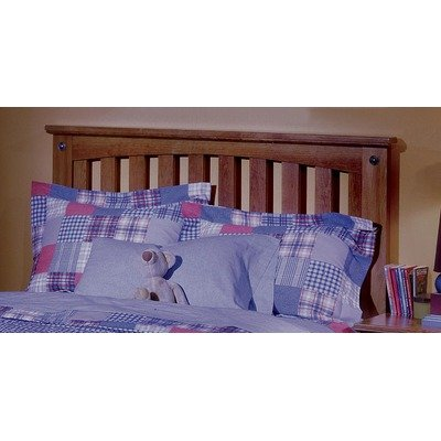 Image of City Park Kids Slat Headboard w Star Pattern in Cherry (Twin) (B005LDDLKW)