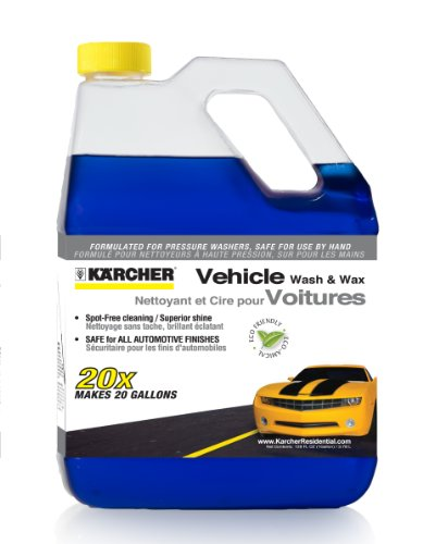 Karcher 9.558-121.0 Vehicle Wash and Wax Spray for Pressure Washer