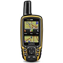 Garmin GPSMAP 64 Worldwide with High-Sensitivity GPS and GLONASS Receiver