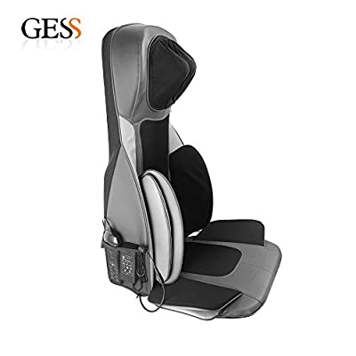 GESS18 Shiatsu Massage Cushion with Heat Back Full Body Back Neck Should Massage Seat Chair,for Home or Car