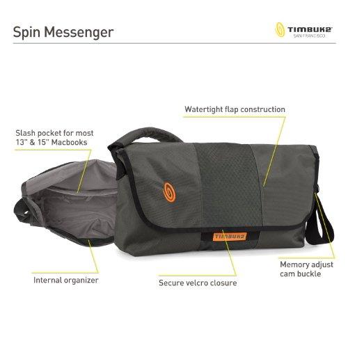 [ティンバック2] TIMBUK2 SPIN MESSENGER XS/S 421-2-2001 ブラック (ブラック)