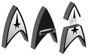 Star Trek SDCC 2009 Promo Pin Rare flashdrive inside pin