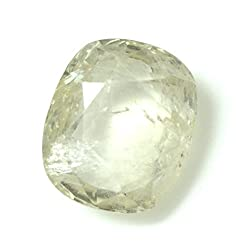 LOOSE 100% NATURAL & CERTIFIED 4.54 ct. YELLOW SAPPHIRE BIRTHSTONE BY ARIHANT GEMS & JEWELS