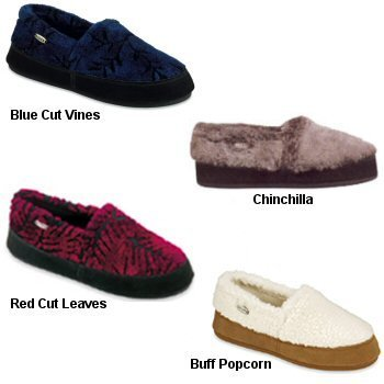 Cheap Acorn Products ACORN TEXTURED MOC SLIPPERS – WOMENS 10115 (B000CC5VV4)